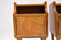 1960's Pair of Vintage Italian Walnut Bedside Cabinets (7 of 10)