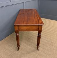 Victorian Mahogany Side Table (6 of 15)