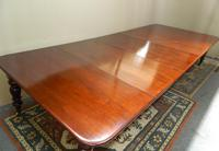 Large Mahogany Extending Dining Table (5 of 8)