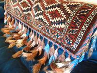 Rare Fabulous Antique Hand Woven Yomut Asmalyk (2 of 8)