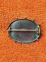 Antique Sterling Silver & Rose Gold Brooch 1887 J W Tiptaft & Son Ltd (2 of 5)