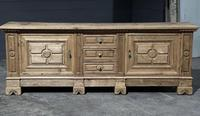 Large French Bleached Oak French Sideboard (18 of 24)