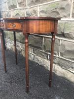 Quality Mahogany Hall Console Table (4 of 7)