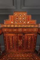 Pair of Damascus Syrian Moorish Inlaid Armchairs (12 of 17)