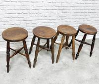 Group of 4 Tavern Stools (2 of 5)