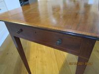 Victorian Mahogany Pembroke Table with Snakewood Cross-banding (8 of 12)
