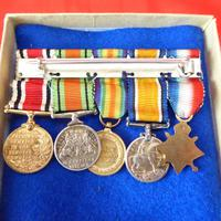 Set of Miniature WW1, WW2 & Police Medals (2 of 2)