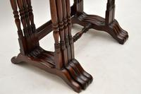 Antique Mahogany Nest of Four Tables (9 of 12)
