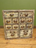 Reclaimed Hand Made Bank of Drawers (18 of 20)