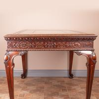 Superb Quality Mahogany Chippendale Design Writing Table (15 of 23)