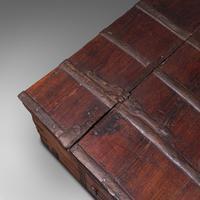 Antique Merchant's Chest, Oriental, Solid Teak, Trunk, William III c.1700 (9 of 12)