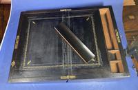 Victorian Brass Inlaid Walnut Writing Slope (11 of 21)
