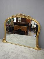 Victorian Giltwood Overmantel Mirror by John Taylor & Son (2 of 13)