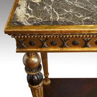 19th Century Swedish Gilt Console Table (5 of 10)