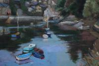 Boats on the river by Prue Sapp (4 of 7)