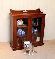 Mahogany Display Bookcase (9 of 9)