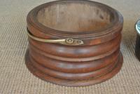 19th Century Dutch Wood & Brass Foot Carriage Warmer Hot Water Bottle (3 of 6)