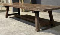 Huge Rustic French Oak Farmhouse Dining Table (21 of 35)