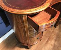 Edwardian Inlaid Mahogany Kidney Shaped Desk (11 of 21)