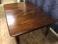 Good Quality Victorian Mahogany Dining table with additional Leaf (11 of 11)