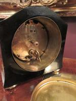Small Antique Chinoiserie Mantel Clock (6 of 8)