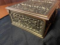 Erhard & Sohne Brass Table Casket (4 of 8)