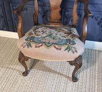 Quality Burr Walnut Child's Chair (9 of 13)