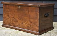 Lovely 19th Century Elm Box / Chest / Blanket Box c.1830 (9 of 13)