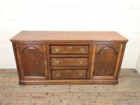 Antique Panelled Oak Dresser Base (2 of 10)