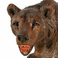 Swiss Carved Wood Black Forest Bear (2 of 7)