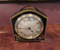 Small Antique Chinoiserie Mantel Clock (8 of 8)
