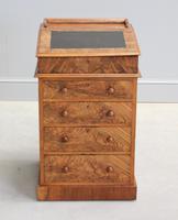 Victorian Burr Walnut Davenport (10 of 10)