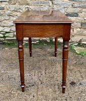 Antique Victorian Mahogany Side Table (9 of 17)