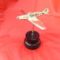 WW2  Brass Trench Art Aircraft
