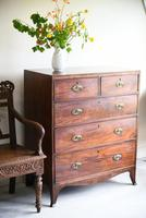 19th Century Antique Mahogany Chest of Drawers (3 of 11)