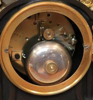 French Louis XVI Style Parcel-Gilt Bronze Mantel Clock (14 of 18)