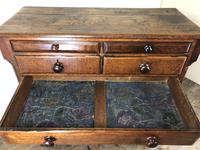 Antique Welsh Oak & Mahogany Chest of Drawers (5 of 15)