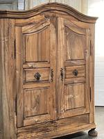 18th Century French Fruitwood Armoire (2 of 19)