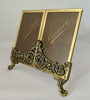 Pretty Brass Frame c.1920 (2 of 5)