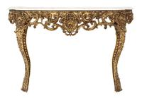 Gilt and Marble Console Table (3 of 10)