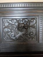 Victorian Carved Oak Settle (6 of 6)