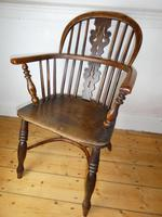 Early 19th Century Yew Windsor Chair