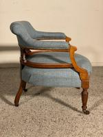 Scottish Armchair In Mahogany Called Tub Chair 19th Century (5 of 7)