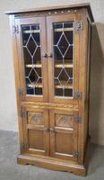 Wood Bros Old Charm Oak Hi Fi Cabinet (12 of 12)