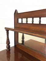 Antique Mahogany Sideboard with Mirror Back (12 of 13)