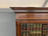 Good Edwardian Inlaid Mahogany Bookcase (11 of 16)