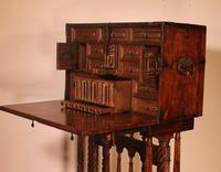 Spanish Renaissance Cabinet Bargueno in Walnut - Early 17th Century (12 of 18)