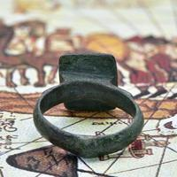 The Ancient Medieval Bronze Mountain Traveller's Ring (4 of 4)