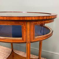 Stunning Victorian Satinwood Bijouterie Jewellery Table (2 of 6)