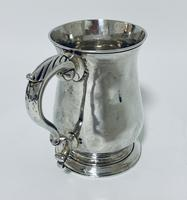 18th Century Georgian Solid Sterling Silver Tankard (7 of 16)